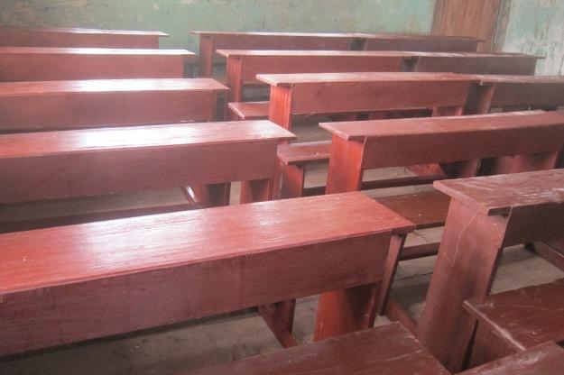New Desks in reroof class