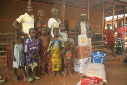 A family of 21 in Kamara Quarter, Samodu lost bread winner to ebola