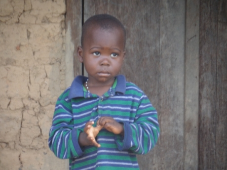 Blama A. Barwor a 2 years old son of the late Alfred Barwor is the only survival of EBOLA in a  family of 49