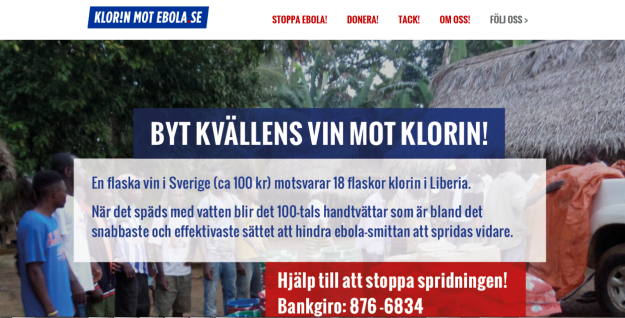 klorin mot ebola site