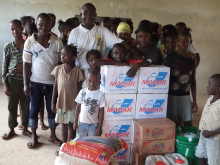 Children Future Orphanage home receive aid from SEFL