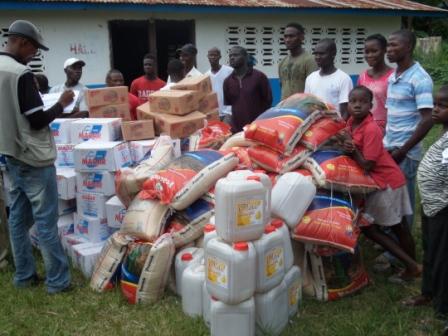 Ebola victims in Weala