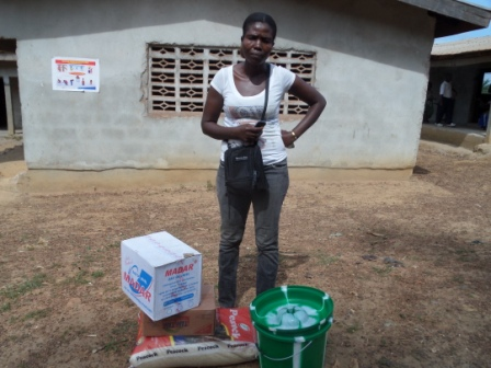 Esther Carmoh lost 2 family members to ebola in the Green Hill Community