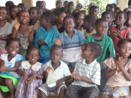 Orphanages in Peter Saylon  Cheered after receiving ration from SEFL following reduction in daily meal since October due to food shortage in ware house