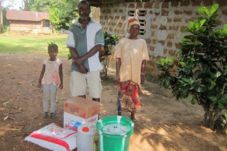 R. Momolu Kermokai and family are now serving quarantined after interacting with affected persons