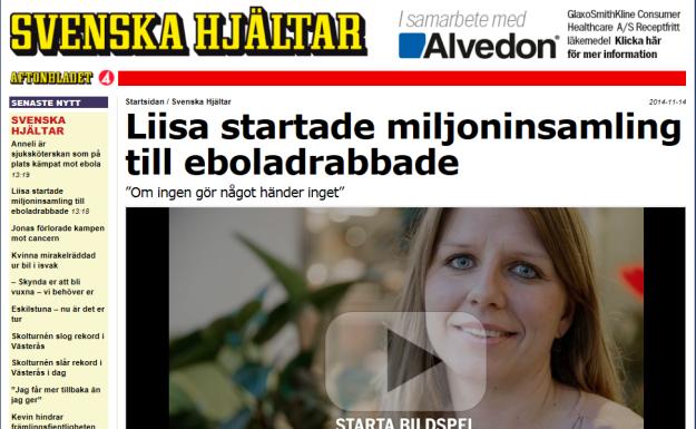 Svenska hjältar Liisa