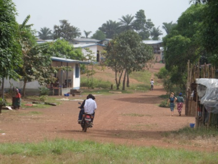 A Partial view of Low Cost Village a community developed by the UNHCR for 3000 Sierra Leonean Refugee who reintegrated into Liberian Communities where ebola killed 18 inhabitance