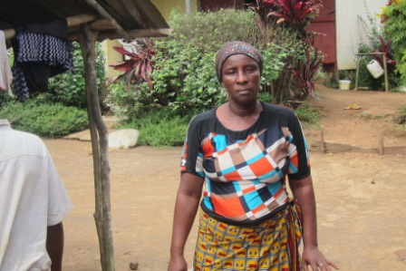 Bantii Dahn, a Wife of Late Bob Dahn- a health worker who died of ebola in the Camp 3 Community