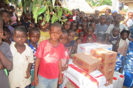 Multi Services Donates to over 200 orphans in Wonde