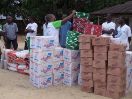 Wealiquah receive donation following a new outbreak