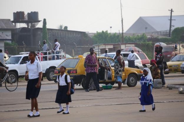 I Liberia lever kristna och muslimer med varandra