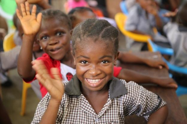Liberia's future president?