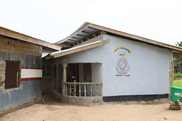 Section of new school building funded and built 2014