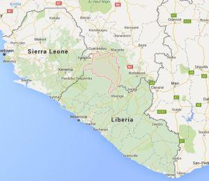 Lofa County Map