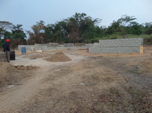 the-front-view-of-school-under-construction