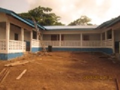 Front view of school - Lofa