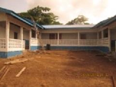 Front view of school - Lofa