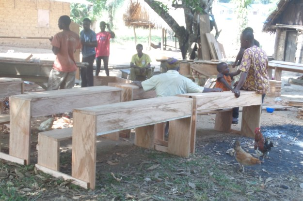 creation-of-school-benches